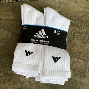 6 pairs socks set Adidas Men's Cushioned Crew